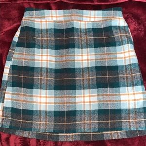 AE Plaid Skirt